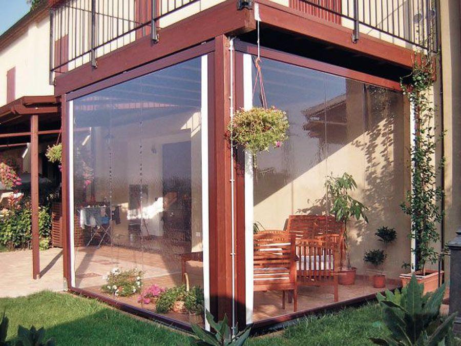 chiusura balconi in plexiglass
